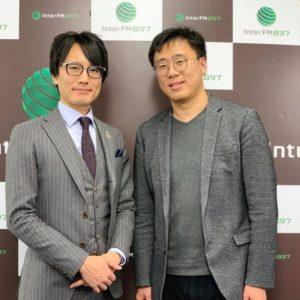DJ古家正亨氏と高橋朋宏